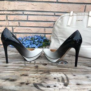 Jessica Simpson Ombré platform heels 8M